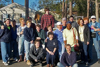 Photo: The Garden Church at the Gulf Coast, helping to rebuild after Katrina
